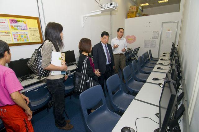 The participants visited Ellen Li Leisure Activity Centre